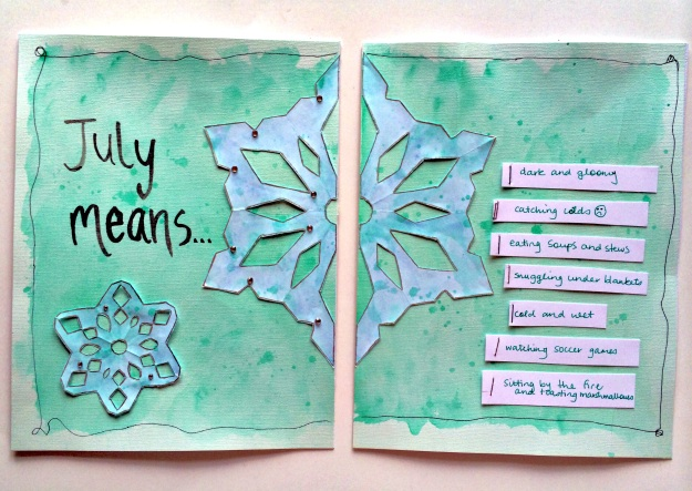 Art Journal - July means